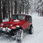 Jeeps ride For Veterans