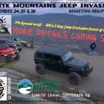 Annual Jeep Invasion White Mountains NH